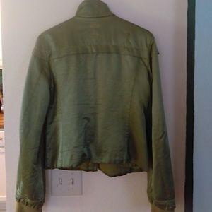 Diesel Jackets & Coats - Diesel Satin Bomber Jacket